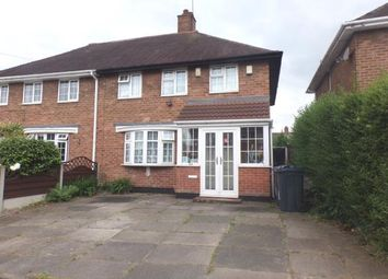Thumbnail 3 bed semi-detached house for sale in Hollyfaste Road, Sheldon, Birmingham
