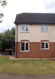Thumbnail 1 bedroom terraced house to rent in Swinford Hollow, Little Billing, Northampton