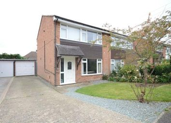 Thumbnail 3 bed semi-detached house for sale in Rushden Way, Farnham, Surrey
