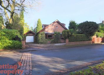Thumbnail 4 bed detached bungalow to rent in Woodlands Crescent, High Legh, Knutsford
