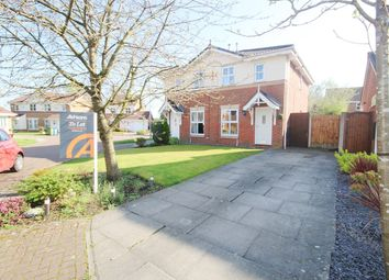 Thumbnail 2 bed semi-detached house to rent in Cotterdale Close, Great Sankey, Warrington