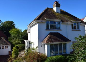 Thumbnail 3 bed detached house for sale in Elmside, Budleigh Salterton