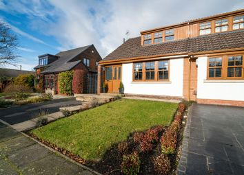 Thumbnail 2 bed semi-detached bungalow for sale in Rutherford Drive, Over Hulton, Bolton, Lancashire.