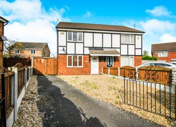 Thumbnail 3 bed semi-detached house for sale in Alvega Close, New Ferry, Wirral