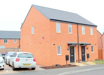 Thumbnail 2 bed semi-detached house for sale in Balmoral Close, Marina Park, Northampton