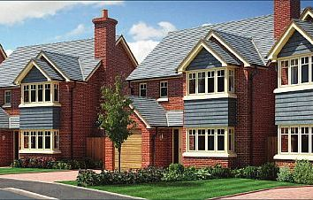 Thumbnail 4 bed detached house for sale in Plot 18 - The Eyton, (Left Hand) Perry View, Prescott, Baschurch, Shropshire