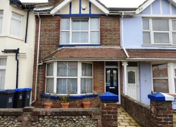 Thumbnail 2 bedroom terraced house to rent in Ham Road, Worthing