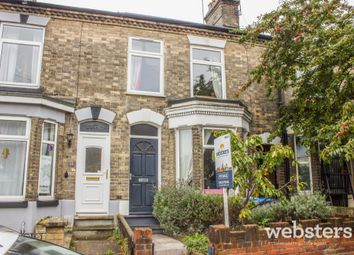 Thumbnail 4 bed terraced house for sale in Cardiff Road, Norwich