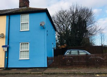 Thumbnail 2 bed end terrace house for sale in Milton Road North, Stowmarket, Suffolk
