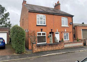 Thumbnail 2 bed semi-detached house for sale in Park Street, Fleckney, Leicester