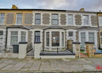Thumbnail 4 bed terraced house for sale in Oban Street, Barry