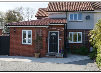 Thumbnail 4 bed semi-detached house for sale in Hill Road, Wangford