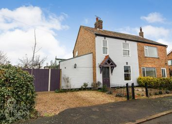Thumbnail 4 bed cottage for sale in Yarmouth Road, Kirby Cane, Bungay