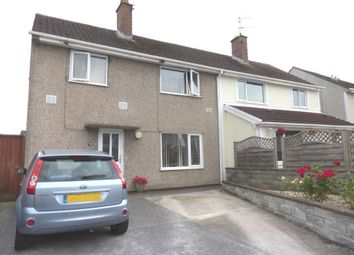 Thumbnail 3 bed semi-detached house for sale in Heol Onnen, North Cornelly, Bridgend