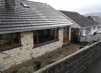 Thumbnail 4 bed detached bungalow for sale in The Oval, Merthyr Tydfil