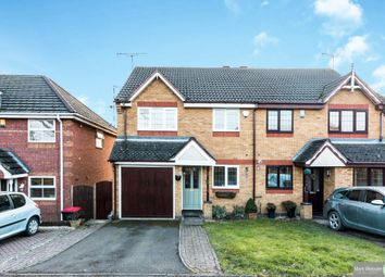 Thumbnail 3 bed semi-detached house for sale in Laurel Drive, Hartshill, Nuneaton