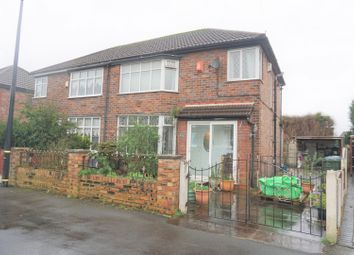 Thumbnail 3 bed semi-detached house for sale in Mount Drive, Manchester