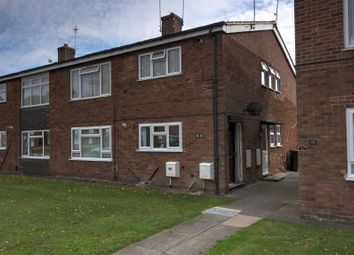 Thumbnail 2 bed flat for sale in Linford Crescent, Coalville