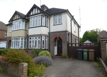 Thumbnail 3 bed semi-detached house for sale in Kingsdown Avenue, Luton