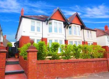 Thumbnail 6 bedroom semi-detached house for sale in Cyncoed Road, Cyncoed