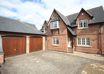Thumbnail 4 bed detached house for sale in Carlyon Court, Kirby Muxloe, Leicester