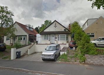 Thumbnail 2 bedroom bungalow for sale in Detached Bungalow, Moor End Lane, Erdington
