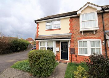 Thumbnail 2 bedroom end terrace house for sale in Vidler Close, Chessington