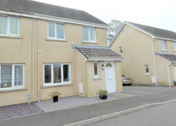 Thumbnail 3 bed semi-detached house for sale in Heol Llwynffynon, Llangeinor, Bridgend.
