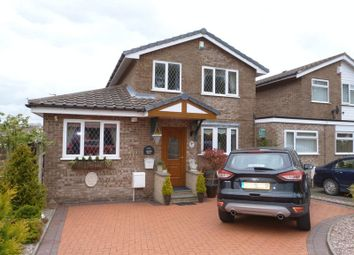 Thumbnail 4 bed link-detached house for sale in Daven Road, Congleton, Cheshire