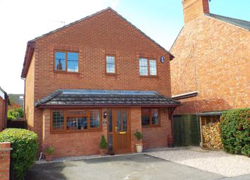 Thumbnail 3 bed detached house for sale in Holyoake Road, Wollaston, Northamptonshire