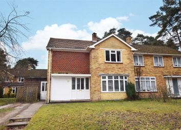 Thumbnail 4 bed semi-detached house for sale in Nightingale Crescent, Harmans Water, Bracknell, Berkshire