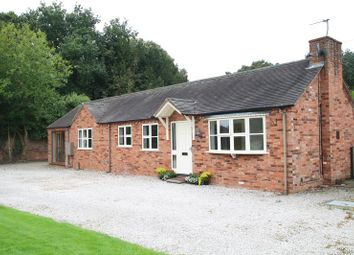 Thumbnail 3 bed detached bungalow to rent in Manor Park, Kings Bromley, Burton-On-Trent