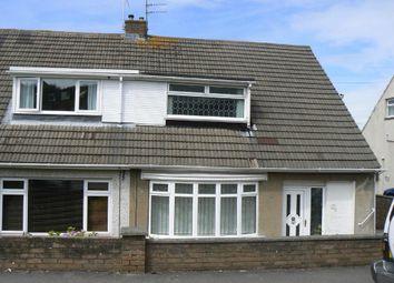 Thumbnail 3 bedroom property to rent in Chantel Avenue, Pen Y Fai, Bridgend