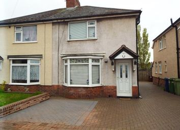 Thumbnail 3 bed semi-detached house for sale in Harrison Road, Cannock, Staffordshire