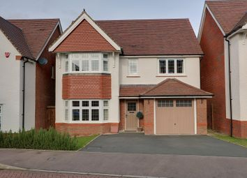 Thumbnail 4 bed detached house for sale in Kidnalls Drive, Whitecroft, Lydney, Gloucestershire.