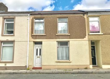 Thumbnail 3 bed terraced house for sale in James Street, Tredegar