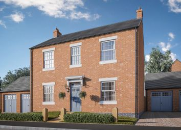 Thumbnail 4 bed detached house for sale in Normanton Road, Packington