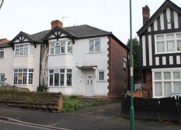 Thumbnail 4 bed semi-detached house to rent in Harlaxton Drive, Lenton, Nottingham