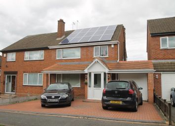 Thumbnail 3 bed semi-detached house to rent in Hagley Road, Halesowen, Hayley Green, West Midlands