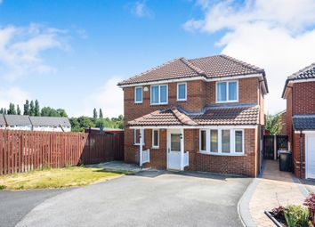 Thumbnail 4 bed detached house for sale in Silver Well Drive, Staveley, Chesterfield