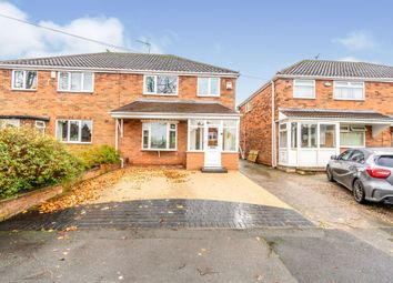 Thumbnail 3 bed semi-detached house for sale in Lilac Avenue, Walsall