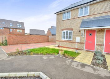Thumbnail 3 bedroom semi-detached house for sale in Mary Rose, Brooklands, Milton Keynes