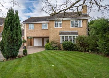 Thumbnail 5 bed detached house for sale in Huxley Close, Newport Pagnell