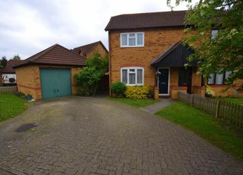 Thumbnail 3 bed semi-detached house for sale in Calverleigh Cresent, Furzton, Milton Keynes