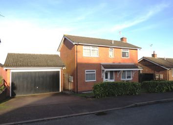 Thumbnail 3 bed detached house for sale in Stirling Drive, Thurnby, Leicester
