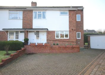 Thumbnail 4 bed semi-detached house for sale in Canford Close, Chelmsford, Essex