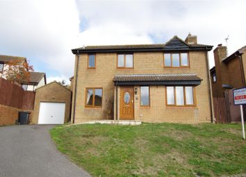 Thumbnail 4 bed detached house to rent in Tarragon Close, Woodhall Park, Swindon