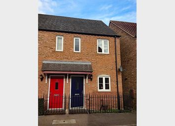 Thumbnail 2 bed semi-detached house to rent in St. Lawrence Drive, Bardney, Lincoln