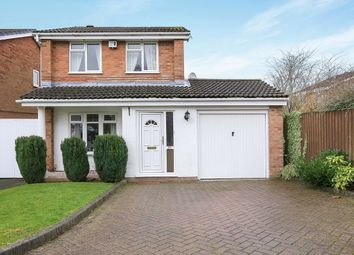 Thumbnail 3 bedroom detached house for sale in Naseby Road, Perton, Wolverhampton