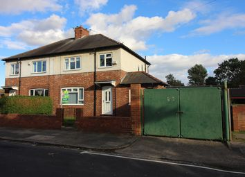 Thumbnail 3 bed semi-detached house to rent in Pendleton Road South, Darlington